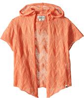 Lucky Brand Kids - Drapey Hooded Kimono (Toddler)
