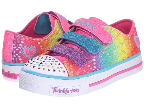 SKECHERS KIDS Twinkle Toes - Shuffles 10612L Lights (Little Kid/Big Kid) - Multi