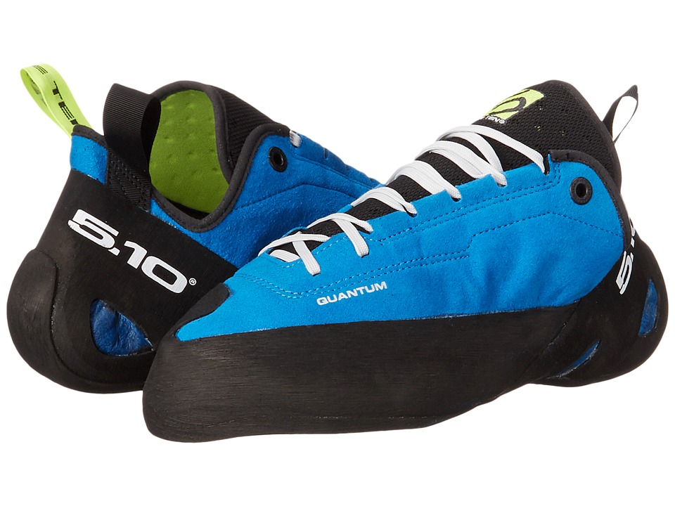 Five Ten - Quantum (Shock Blue/Solar Yellow) Mens Climbing Shoes