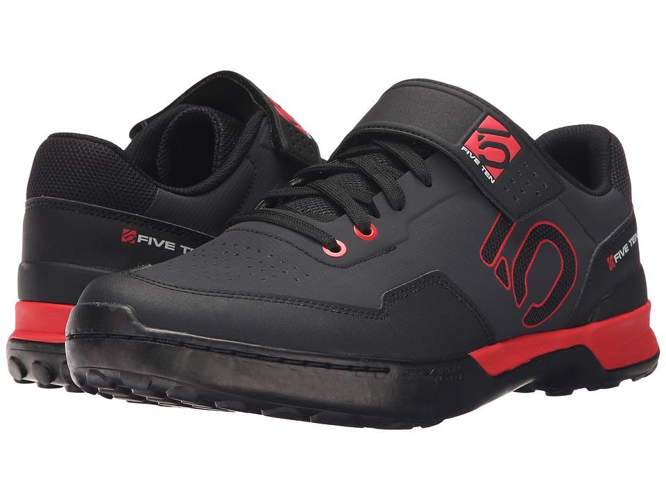 Five Ten Kestrel Lace (Black/Red) Men's Shoes