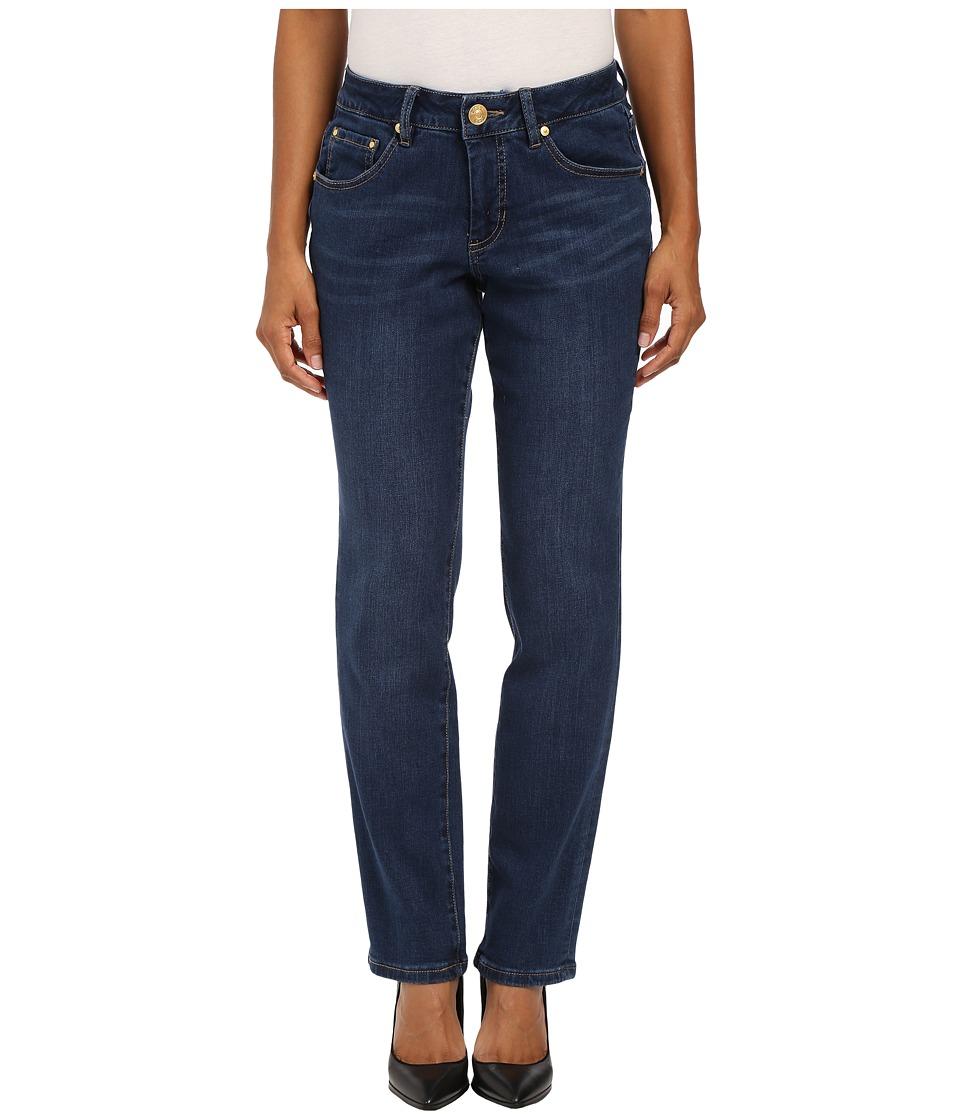 Jag Jeans Petite Petite Patton Straight in Blue Shadow Republic Denim Blue Shadow Womens Jeans
