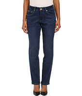 Jag Jeans Petite - Petite Patton Straight in Blue Shadow Republic Denim