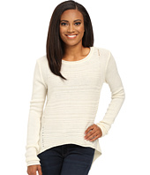 Jag Jeans Petite - Petite Boat Neck Drop Tail Sweater
