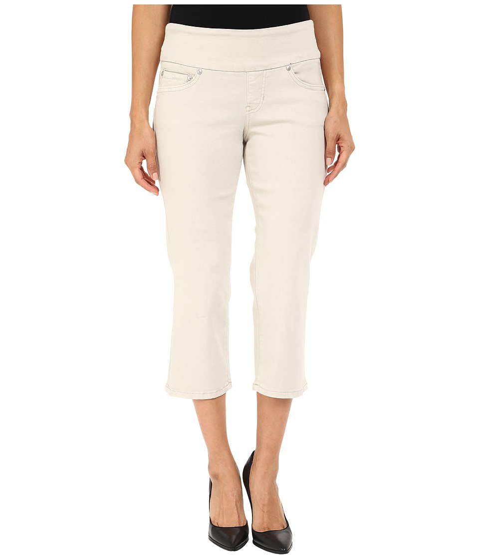 Jag Jeans Petite Petite Echo Crop in Dolce Twill Stone Womens Jeans