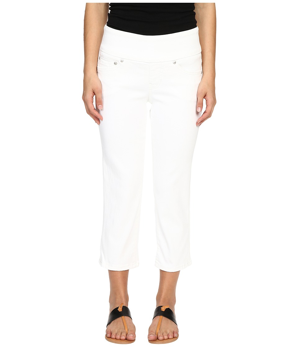 Jag Jeans Petite Petite Echo Crop in Dolce Twill White Womens Jeans