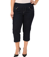 Jag Jeans Plus Size - Plus Size Echo Crop in Dark Shadow Comfort Denim