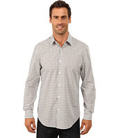 Perry Ellis - Long Sleeve Multicolor Dobby Check Shirt