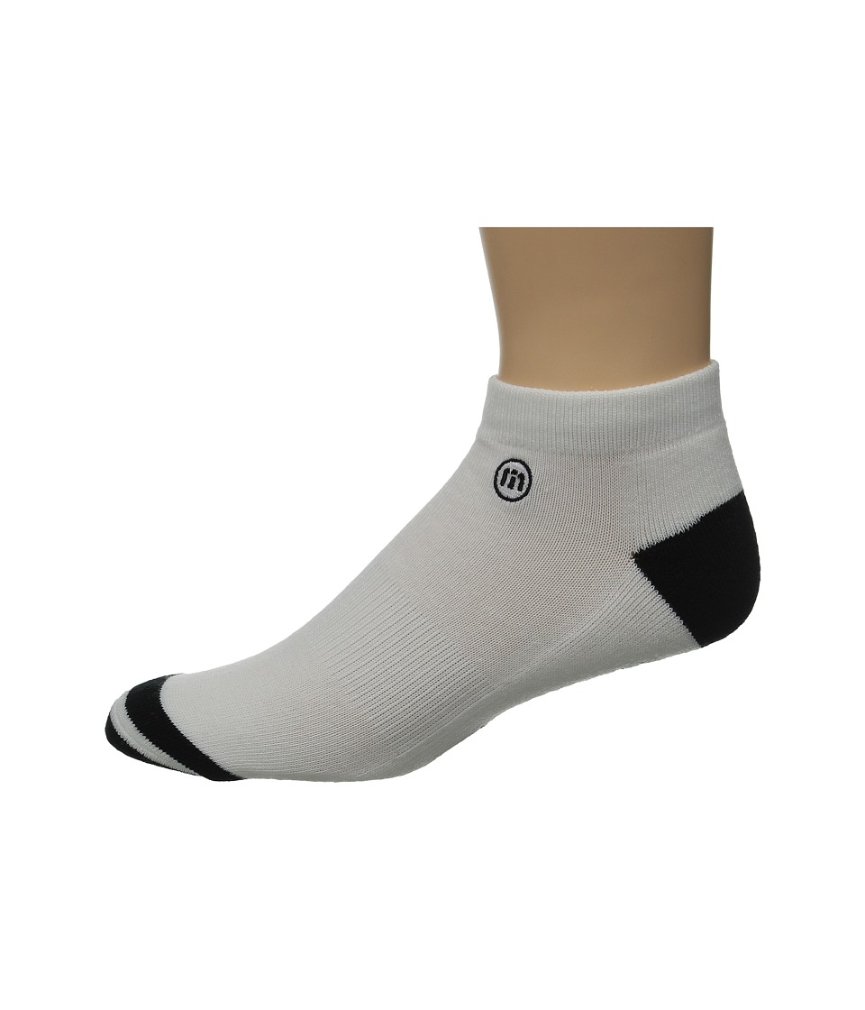 TravisMathew Low Pro Socks White Mens Low Cut Socks Shoes