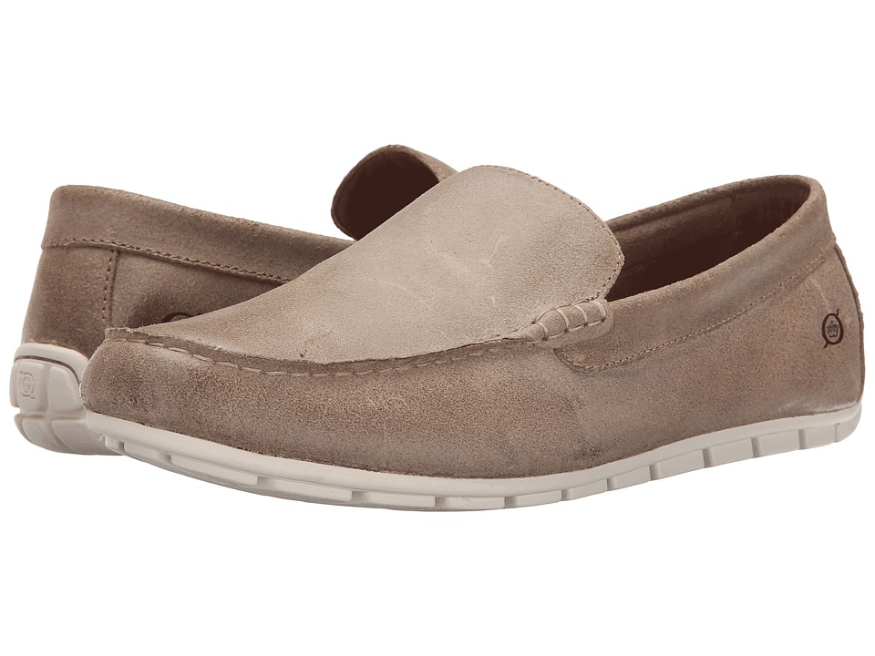 Born Allan Castoro Suede Mens Slip on Shoes