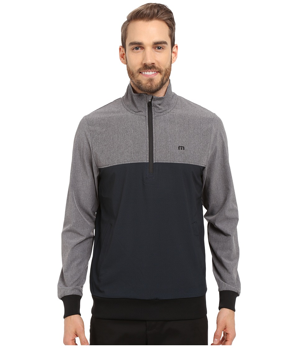 TravisMathew Wahoo Jacket Black Castlerock Mens Jacket