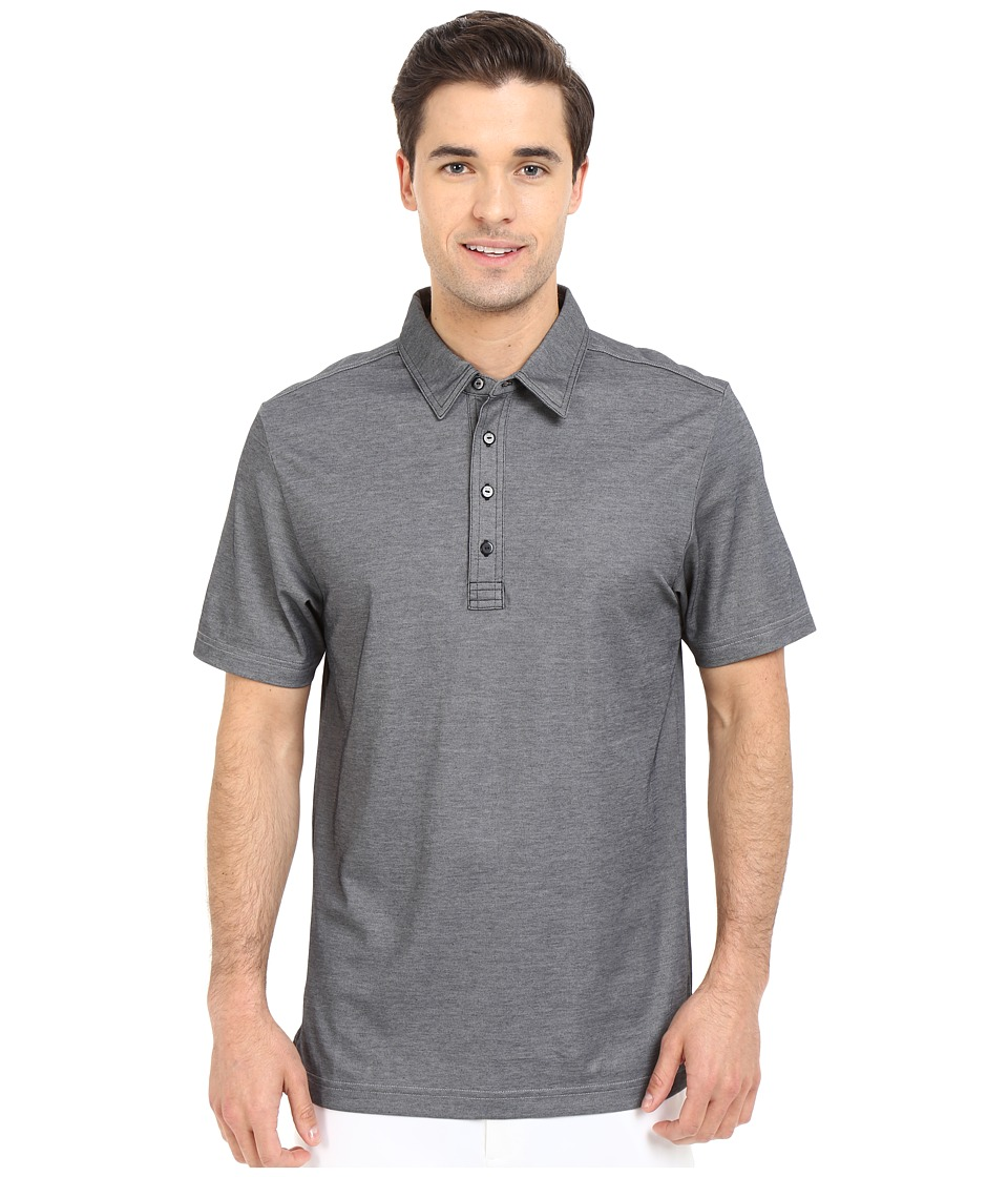 TravisMathew Crenshaw Polo Heather Castlerock Mens Short Sleeve Pullover