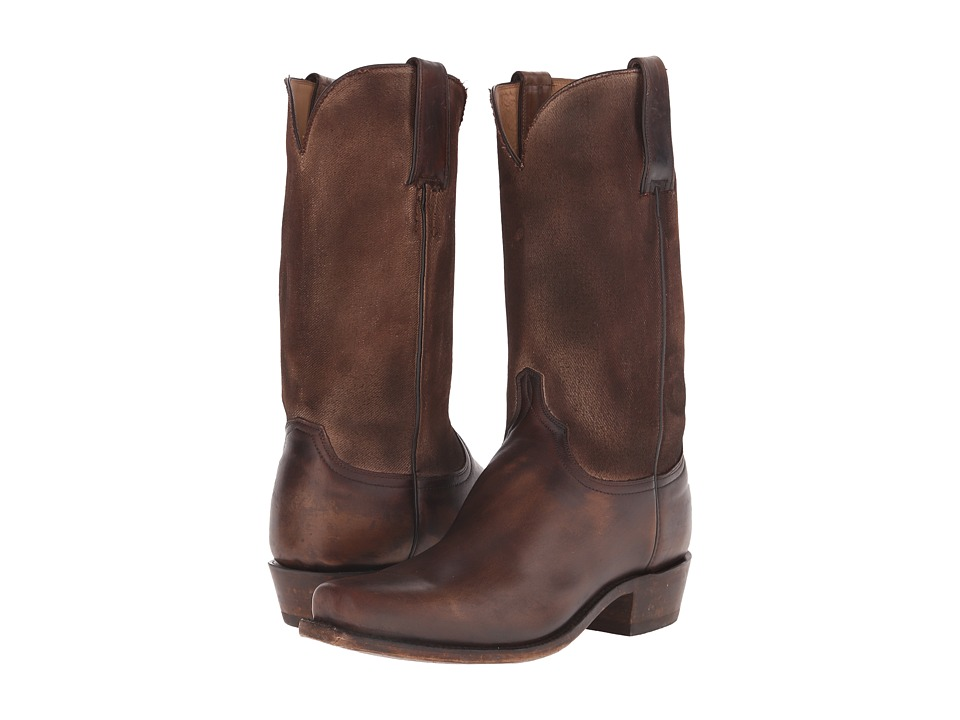 Lucchese GY1526.73 (Chocolate) Cowboy Boots