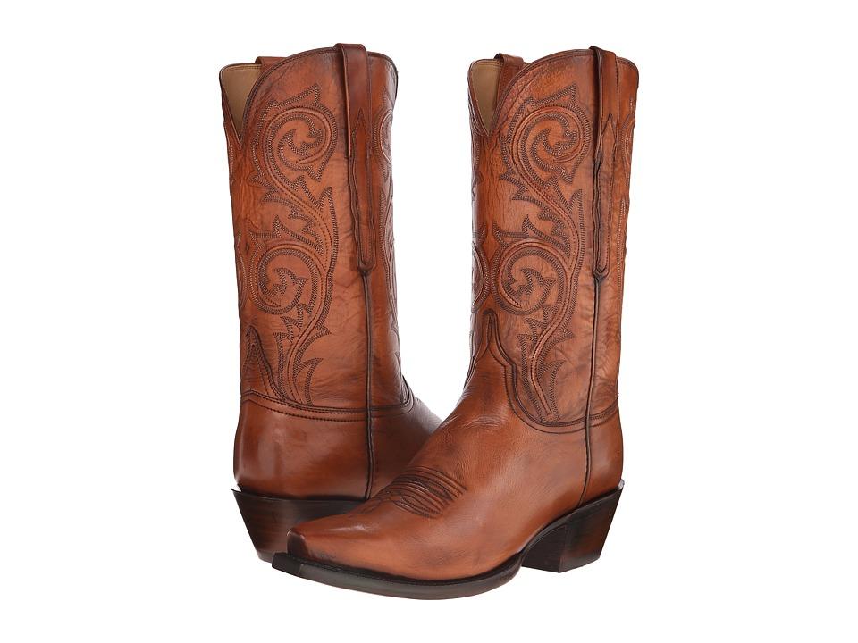 Lucchese - L1697.54 (Cognac) Cowboy Boots