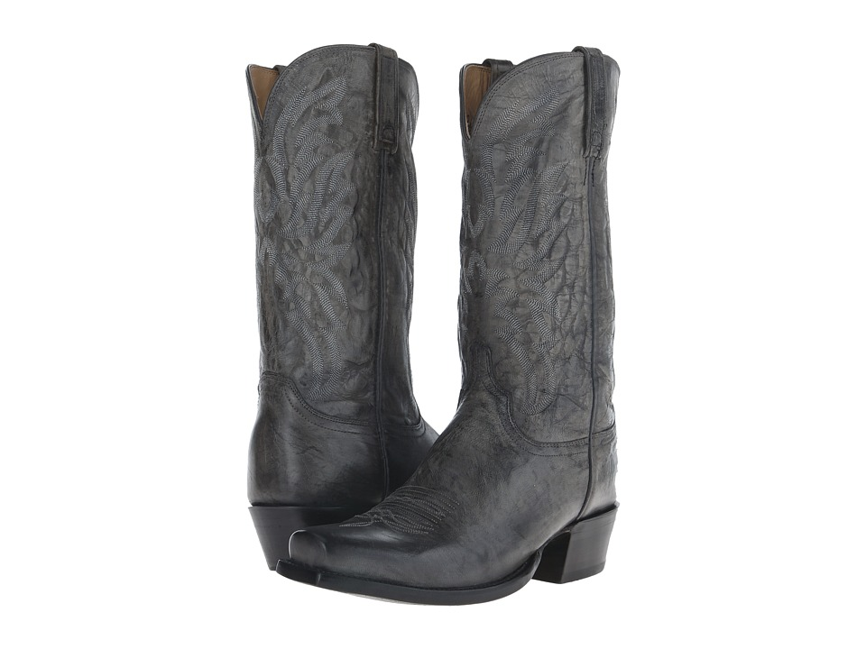 Lucchese HL1513.73 (Anthracite Grey) Cowboy Boots