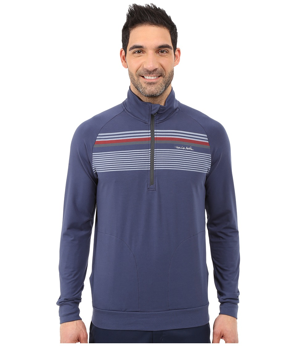 TravisMathew Anchorage Jacket Insignia Blue Mens Sweatshirt