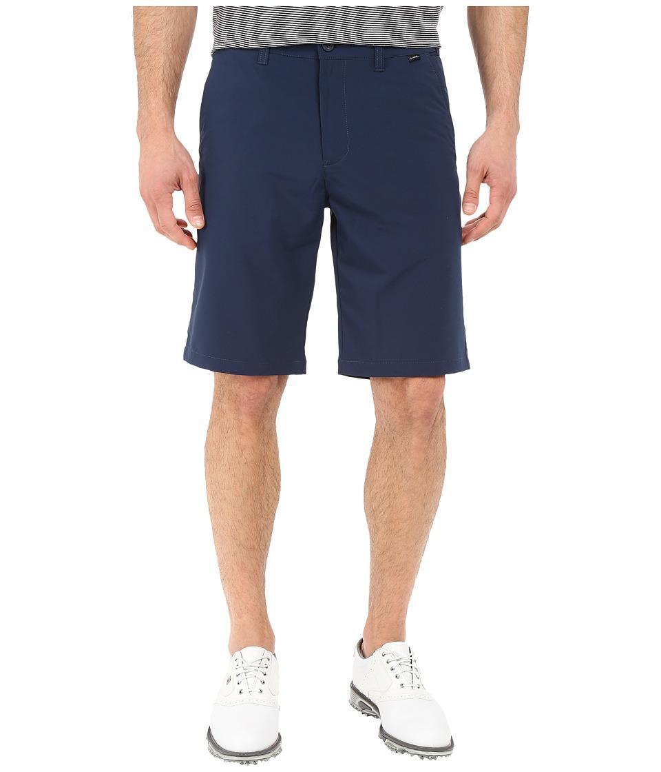 TravisMathew Hef Flex Shorts (Navy) Men