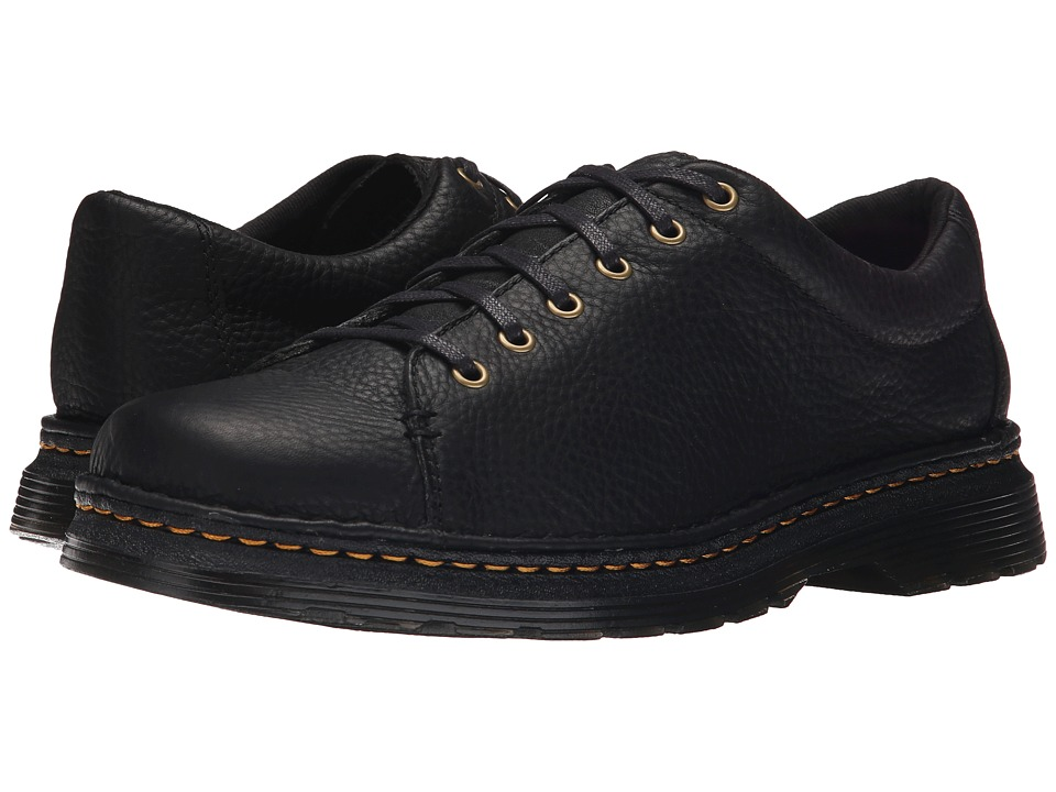 Dr. Martens - Healy 6-Tie LTT Shoe (Black Grizzly/Hi Suede WP) Men
