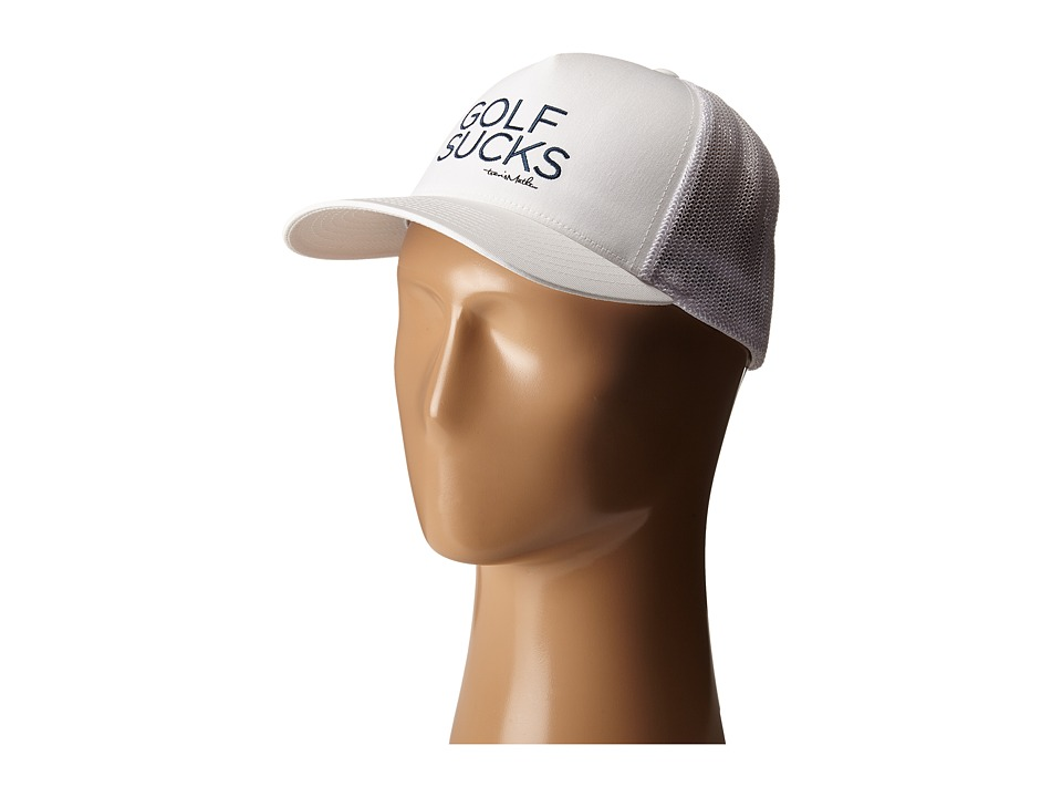 TravisMathew Sucker Hat White Caps