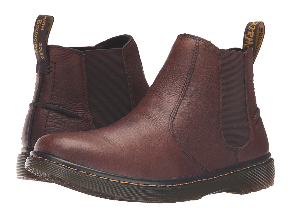 Dr. Martens - Lyme Chelsea Boot (Dark Brown Grizzly) Men