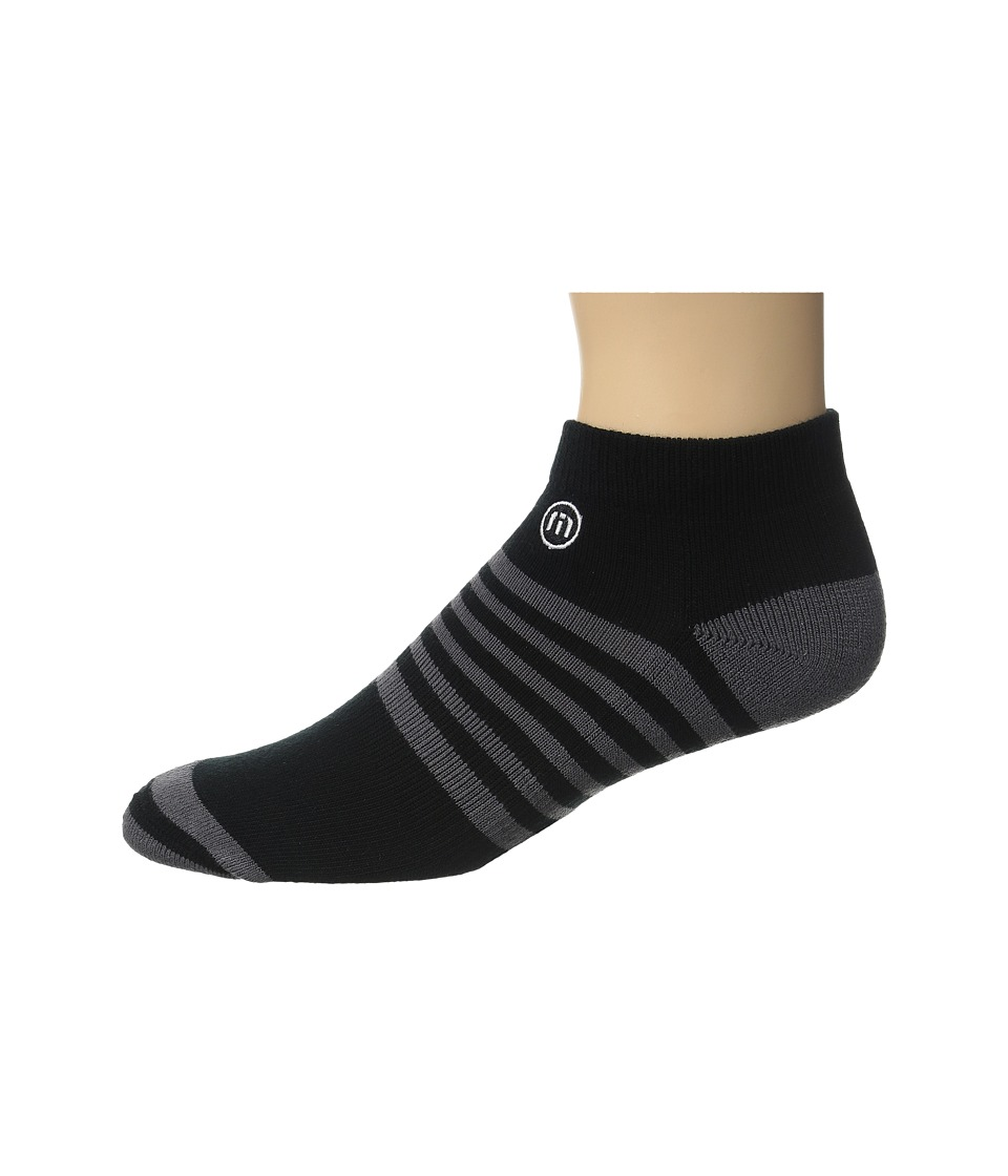 TravisMathew All Days Socks Black Mens Crew Cut Socks Shoes