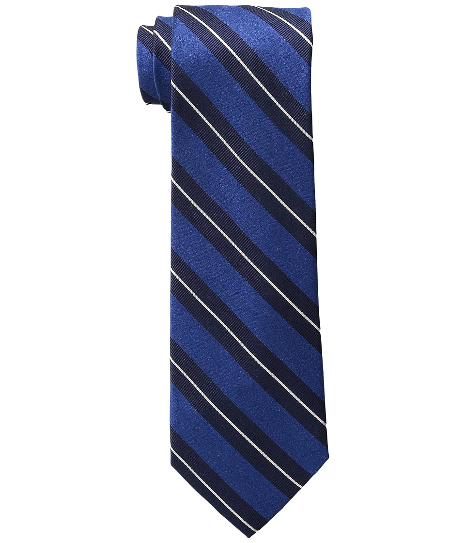 Tommy Hilfiger Autumn Stripe 2 Dark Navy Ties