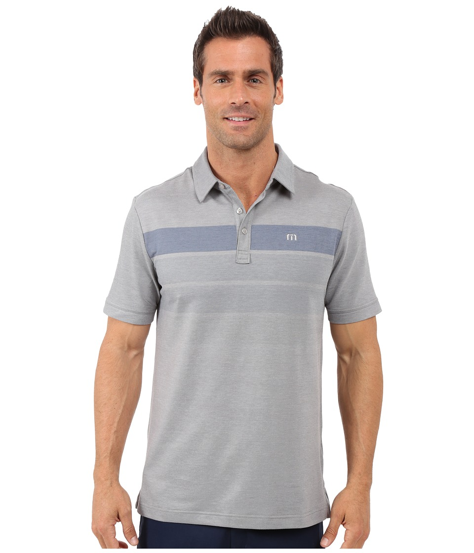 TravisMathew Close Out Polo Lunar Rock Castlerock Mens T Shirt