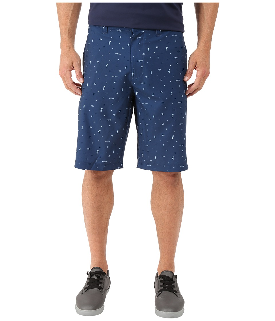 TravisMathew Scupper Shorts Insignia Blue Mens Shorts