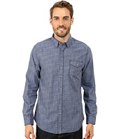 DKNY Jeans - Long Sleeve Space Dye Plaid Shirt