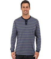 Agave Denim - Long Sleeve Henley Stripe