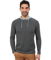 Agave Denim - Long Sleeve Hoodie/Crew Stripe