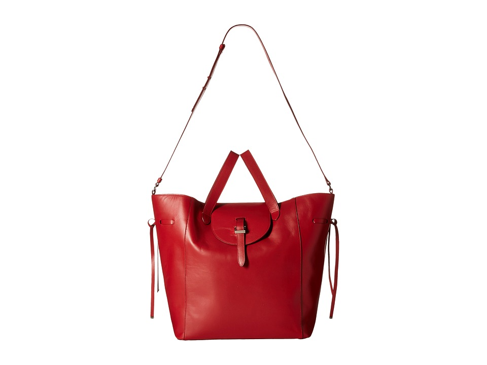 meli melo Fleming Red Handbags