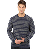 Agave Denim - Long Sleeve Crew Fine Gauge Stripe
