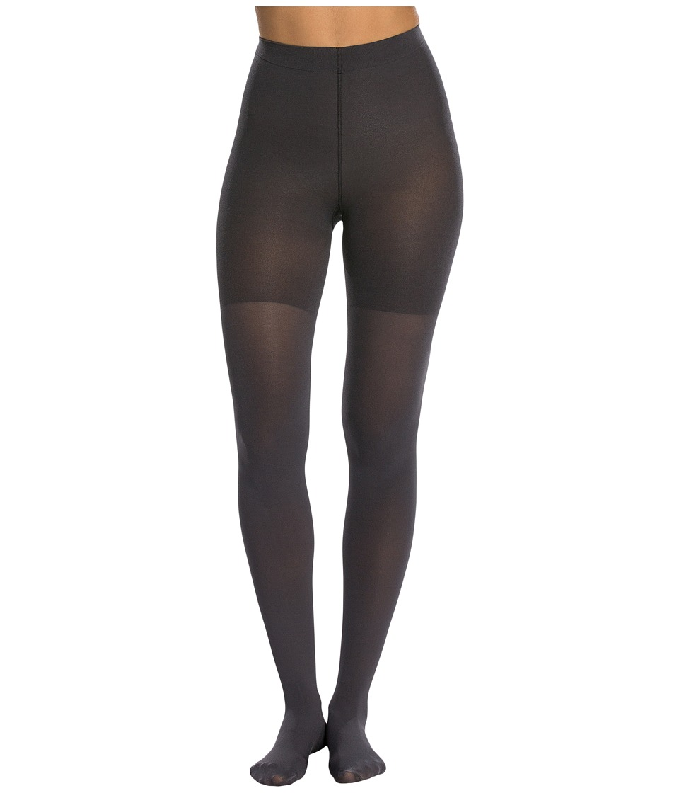 Spanx Luxe Leg Shaping Tights Charcoal Hose