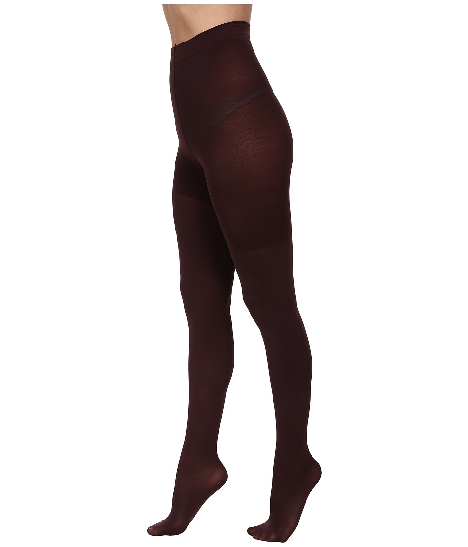 Spanx Luxe Leg Shaping Tights Umber Brick Hose