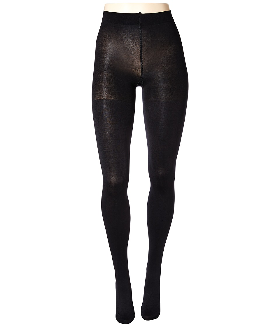 Spanx Luxe Leg Blackout Shaping Tights Very Black Hose