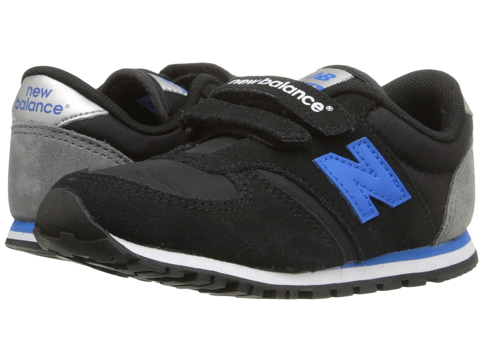 New Balance Kids Classics 420 Infant/Toddler Grey/Navy Boys Shoes