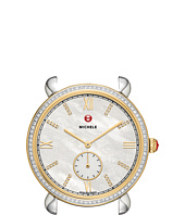 Michele - 18mm Gracile Two-Tone Gold Diamond Diamond Dial