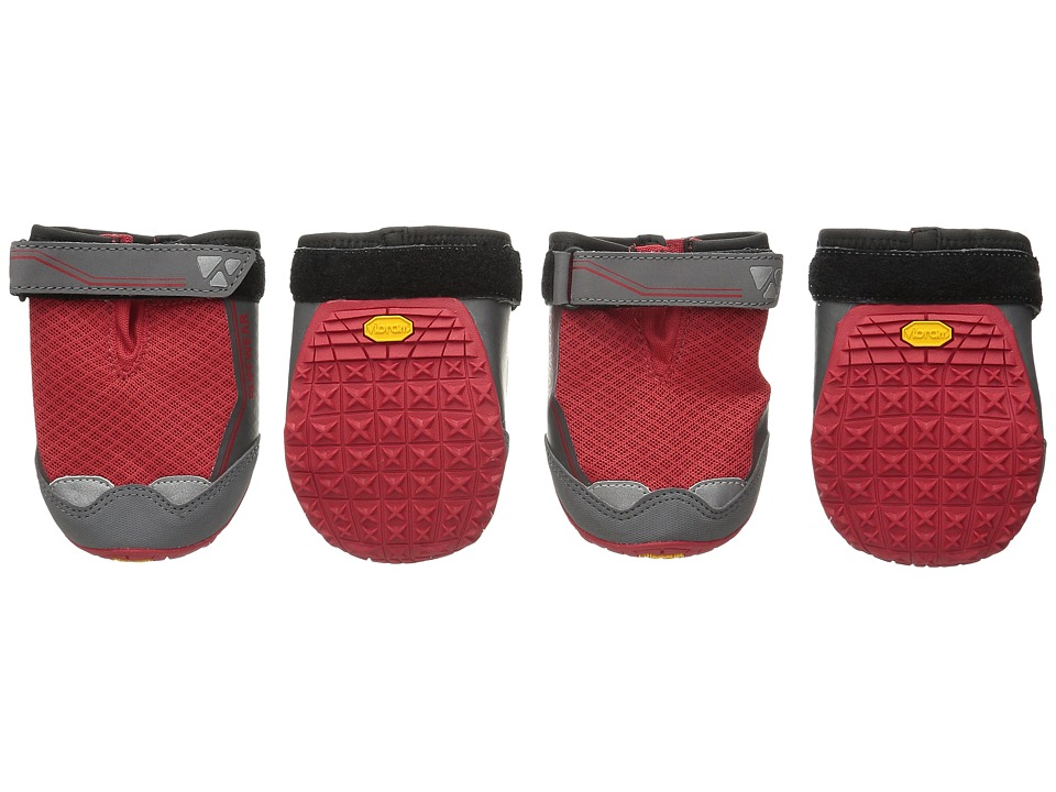 Ruffwear Grip Trex Boots (Red Currant) Dog Clothing