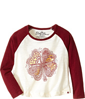 Lucky Brand Kids - Clover Foil Tee (Toddler)