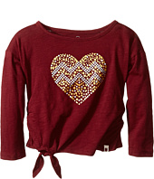Lucky Brand Kids - Stud My Heart Tee (Toddler)