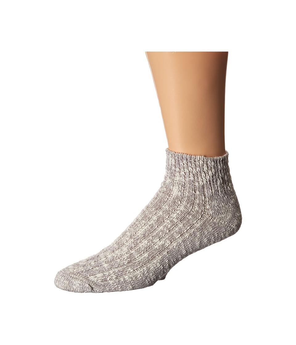 Wigwam Cypress Quarter Single Pack White/Grey Quarter Length Socks Shoes