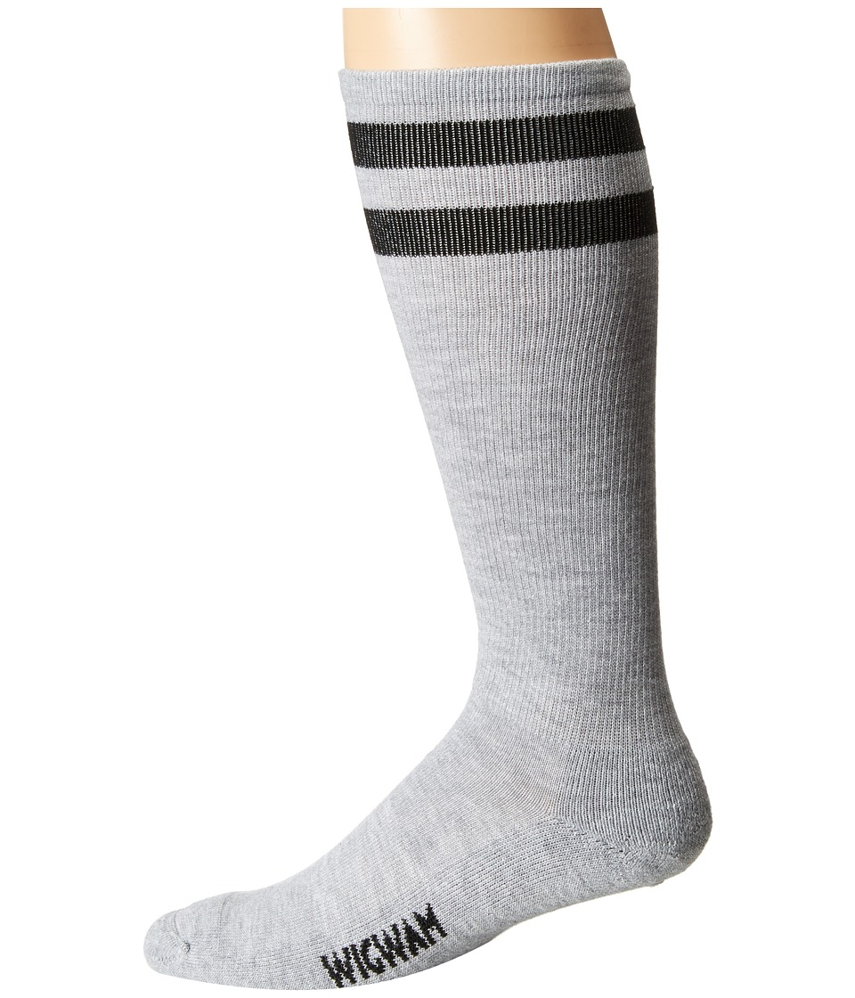 Wigwam - Courtside Single Pack (Black) Crew Cut Socks Shoes