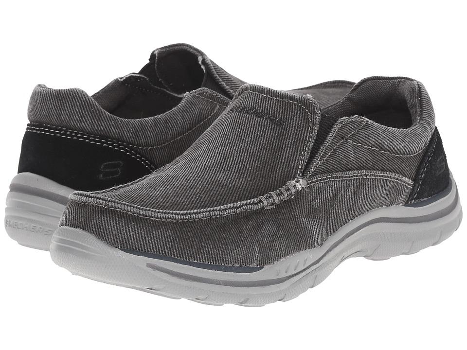 SKECHERS KIDS Expected Avillo 96350L Little Kid/Big Kid Black Boys Shoes