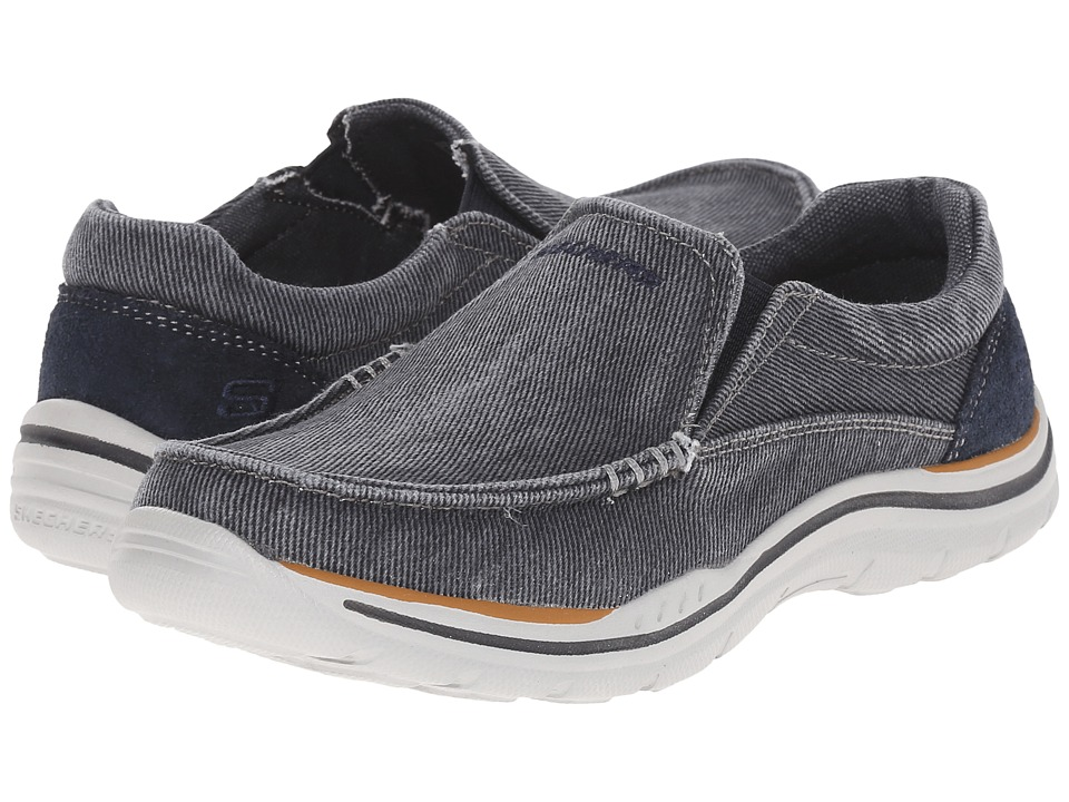 SKECHERS KIDS Expected Avillo 96350L Little Kid/Big Kid Blue Boys Shoes