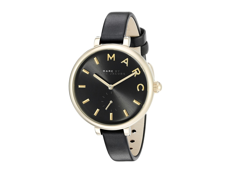 Marc by Marc Jacobs MJ1416 Sally Leather Black Watches
