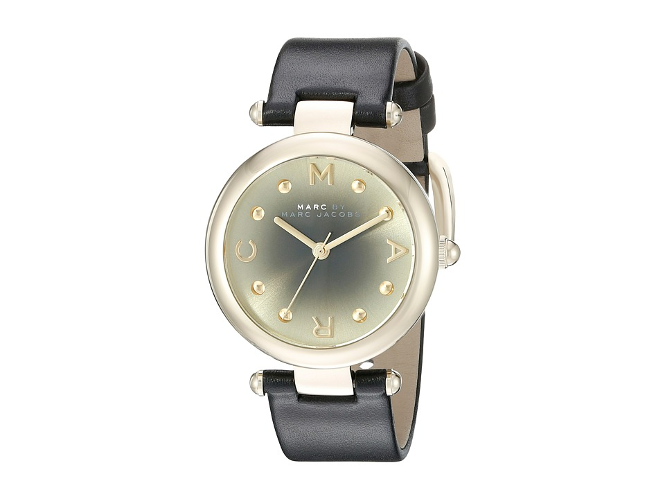 Marc by Marc Jacobs MJ1409 Dotty Leather Black Watches