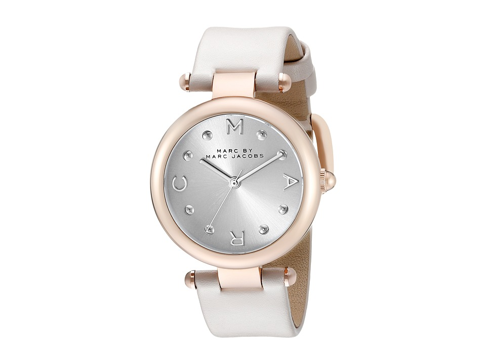 Marc by Marc Jacobs MJ1408 Dotty Leather Gray Watches