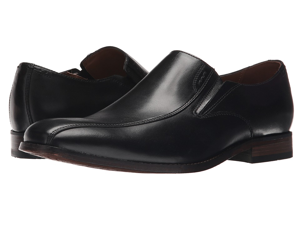 Bostonian Narrate Step (Black Leather) Men