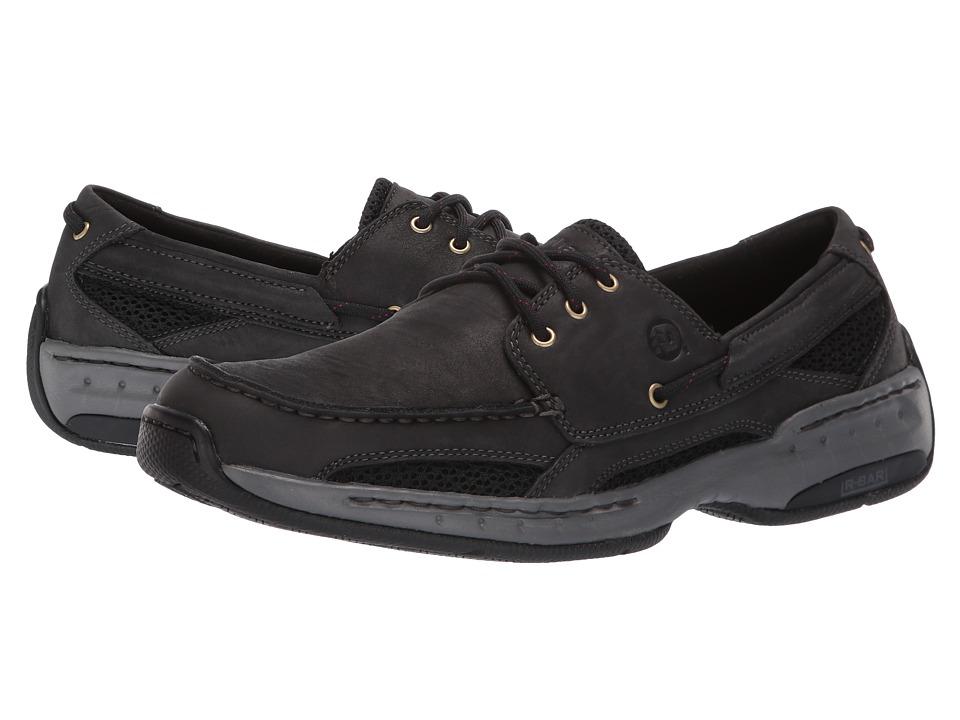 Dunham Captain Black Mens Slip on Shoes