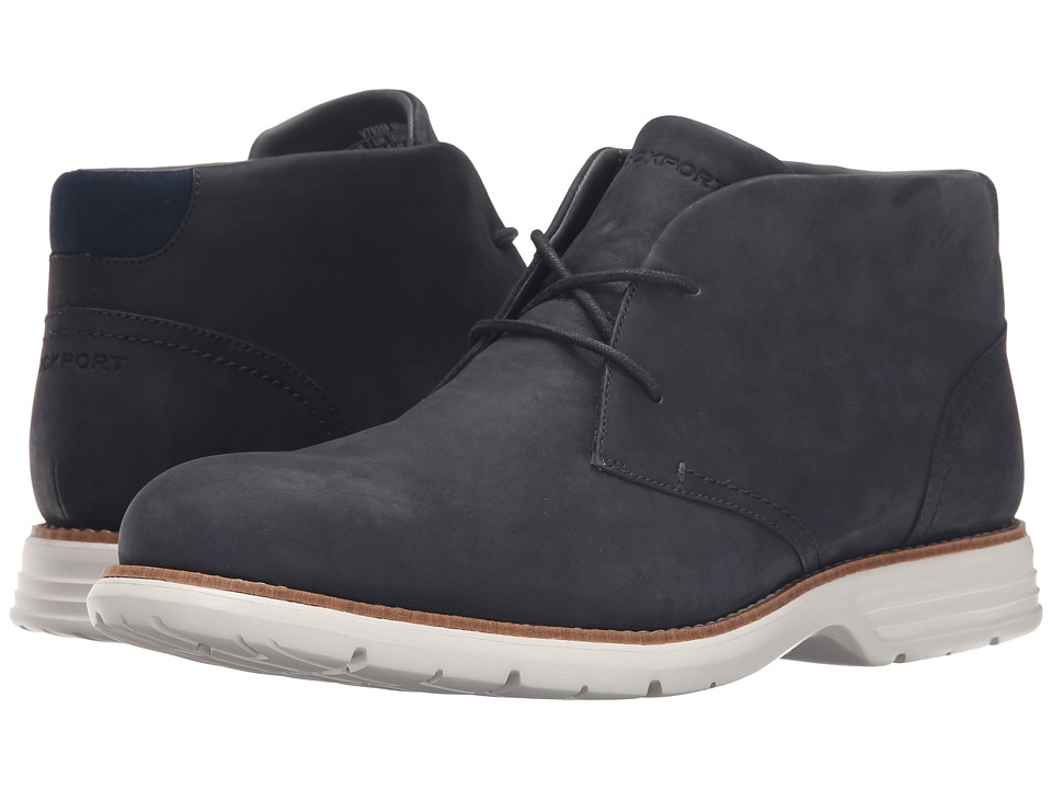 Rockport Total Motion Fusion Desert Boot New Dress Blues Mens Dress Lace up Boots